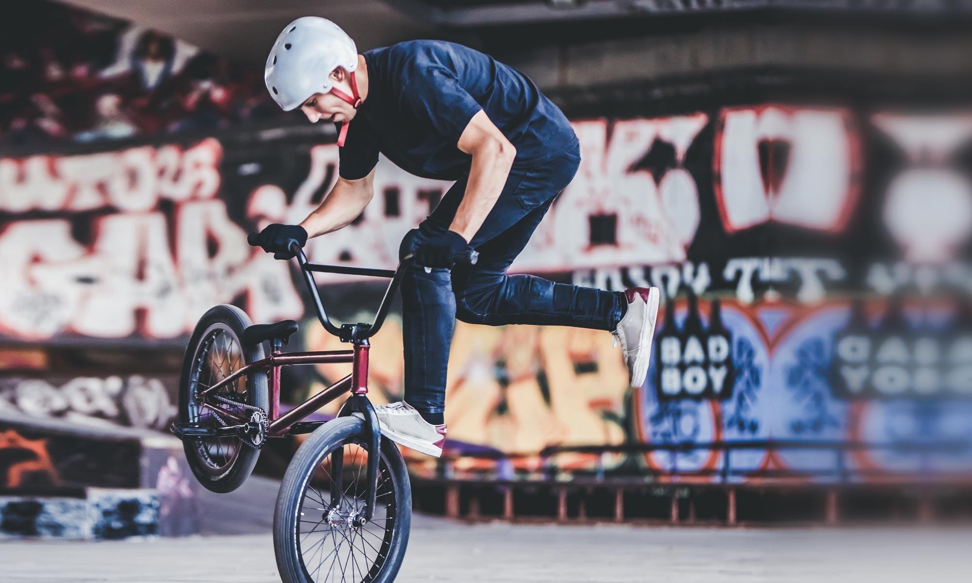 BMX Fahrer